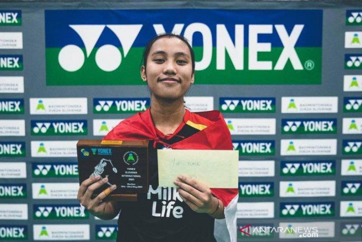 Indonesia raih dua gelar di Slovenia International 2021