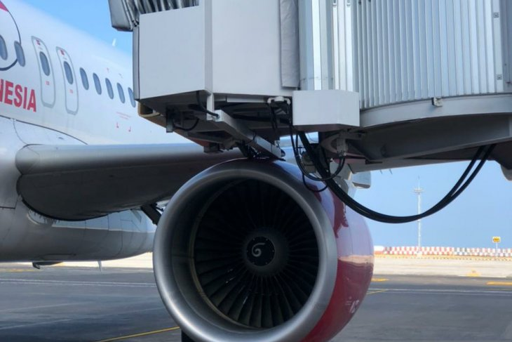 Garbarata Bandara Bali tertabrak sayap Batik Air