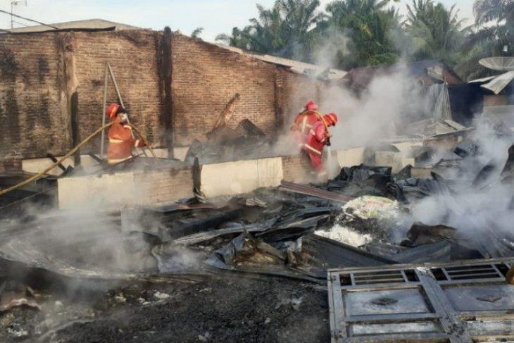Delapan rumah di Hutabayu Raja Simalungun terbakar