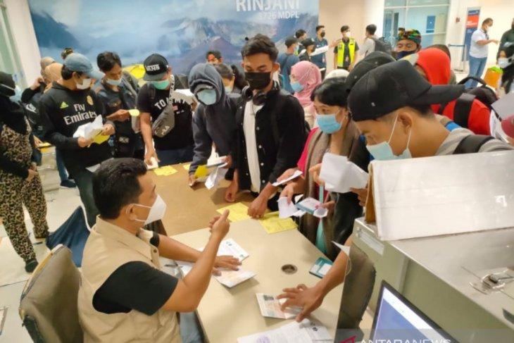 Sebanyak 13.541 pekerja migran Indonesia asal NTB kembali ke kampung halaman