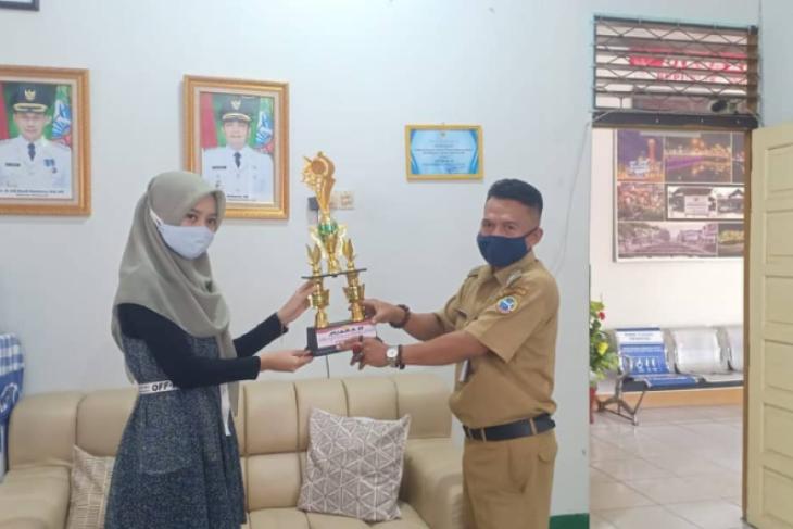 Mitra binaan PLN Kalbar menangkan lomba perpustakaan tingkat Kota Pontianak