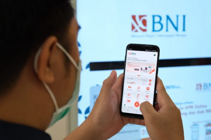 BNI mencatat peningkatan transaksi 50 persen gunakan
