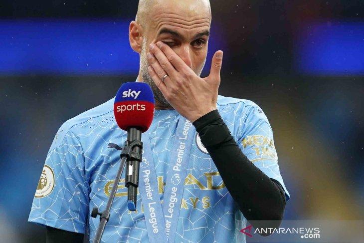 Guardiola manajer terbaik 2021 versi Asosiasi Manajer Liga Inggris