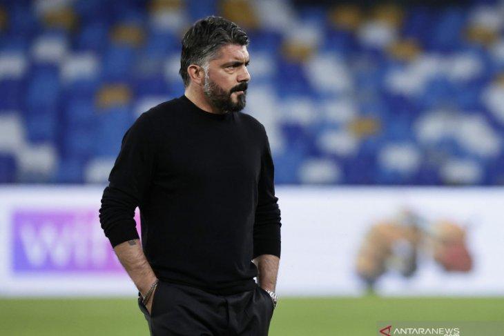 Liga Italia: Napoli resmi berpisah dengan Gattuso