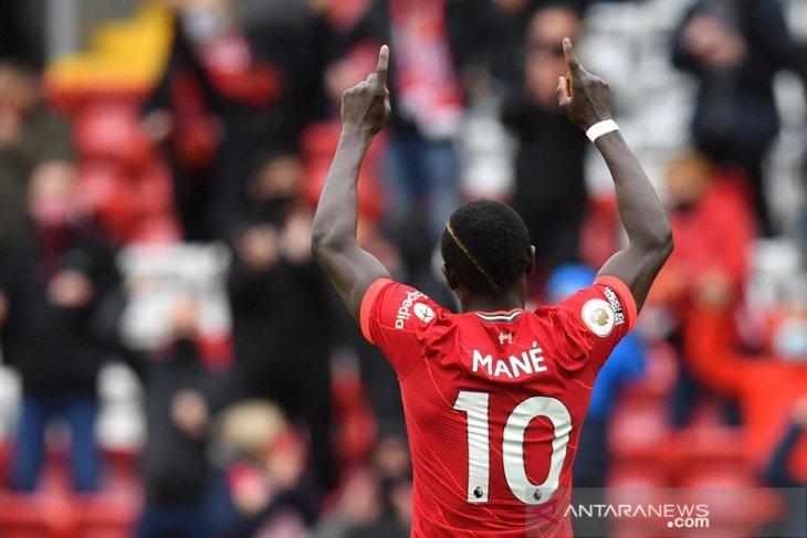 Dua Mane muluskan langkah Liverpool ke Liga Champions