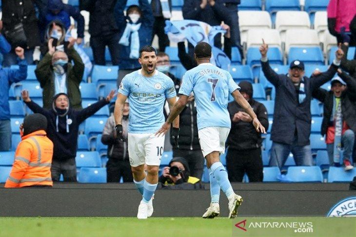 Manchester City bantai Everton 5-0 sebelum angkat trofi Liga Inggris