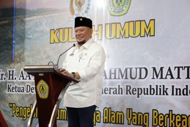 Ketua DPD RI LaNyalla sebut koperasi sebagai lantai bursa milik rakyat