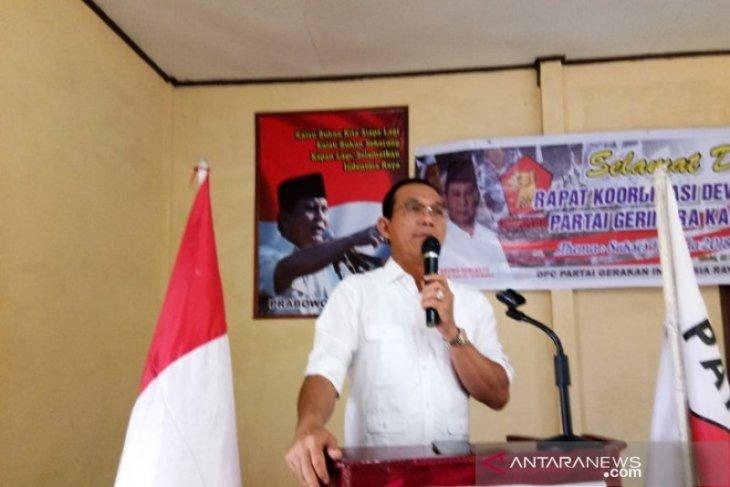 Fraksi Gerindra DPR-RI segera pertanyakan izin bukaan lahan Hutaimbaru Sipirok ke Menteri LHK RI