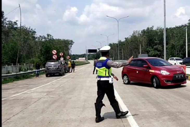 5.942 kendaraan diputar balik saat PPKM Darurat Sumbar