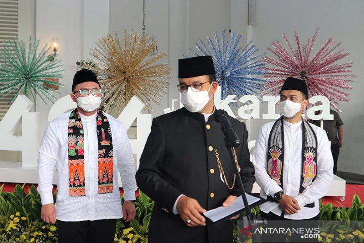 HUT DKI, Anies harap Jakarta segera bangkit
