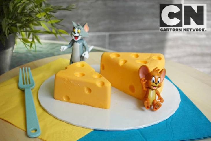 No Bake Cheesecake ala Tom & Jerry