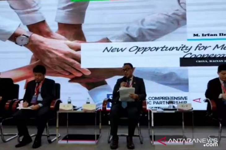 Kantor Berita ANTARA berpartisipasi dalam Forum Media-Akademisi RCEP di Hainan