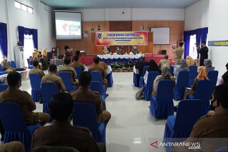 Sekda HSS buka forum konsultasi publik