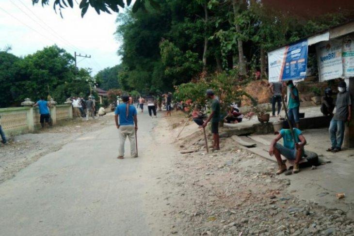 Polres Langkat amankan empat warga terkait penganiayaan di Wampu Langkat