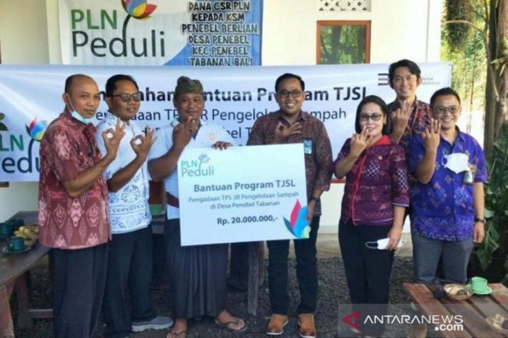 PLN Bali bantu mesin pencacah sampah bertenaga listrik di Buleleng dan Tabanan