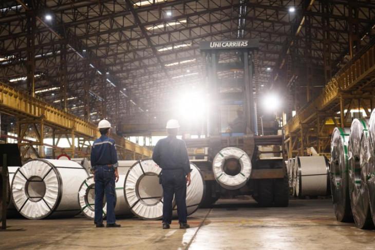 Laba bersih Krakatau Steel naik 601 persen disemester I-2021