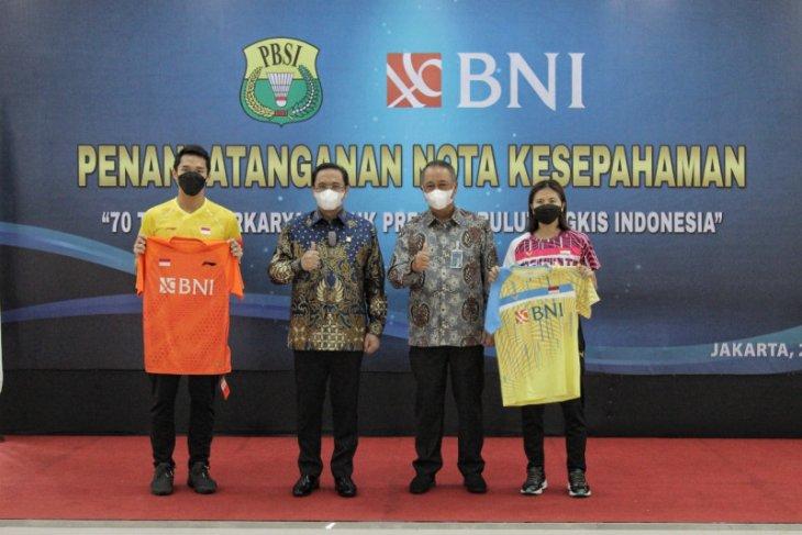 BNI resmi jadi pendukung pengembangan atlet bulu tangkis nasional