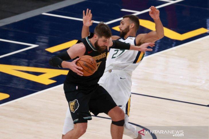 Utah Jazz petik kemenangan 141-129 atas Grizzlies pada gim kedua