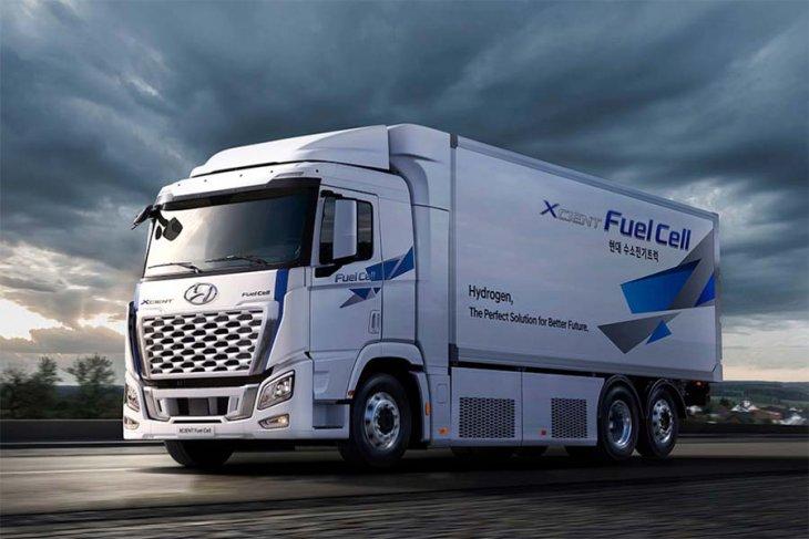Hyundai perbarui XCIENT Fuel Cell
