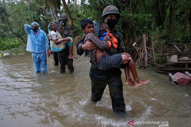 Banjir dan longsor di India, korban tewas bertambah jadi 125