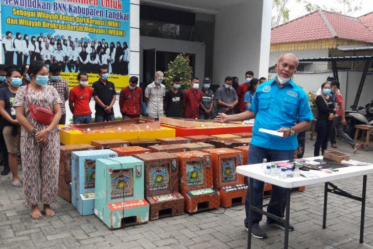 Kronologis penangkapan BNN Langkat di Dusun II Perdamaian Kecamatan Binjai