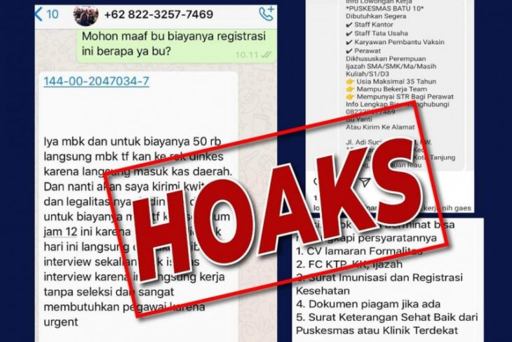 Begini cara membedakan hoaks dan fakta