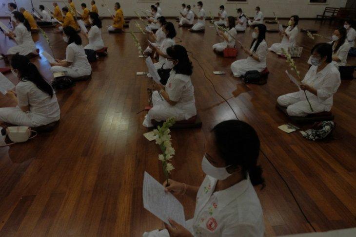 Vihara Buddha Sakyamuni rayakan Waisak secara virtual