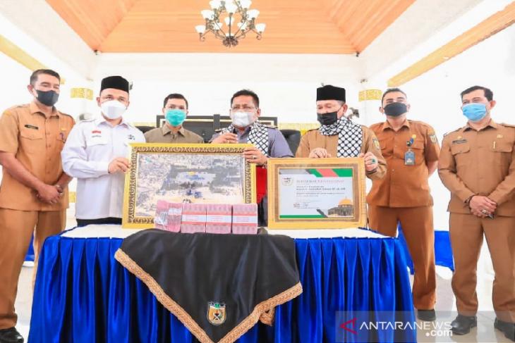 ASN dan warga Banda Aceh kumpulkan Rp 400 juta untuk bantu Palestina