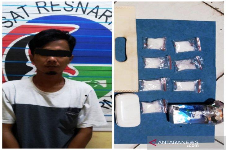 Pengedar sabu-sabu seberat 21,76 gram di Banjarmasin terancam 12 tahun penjara