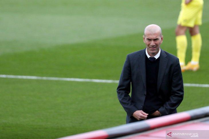 Zinedine Zidane hengkang dari Real Madrid