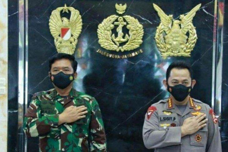 Ini arahan Kapolri dan Panglima kepada prajurit TNI-Polri yang bertugas di Papua