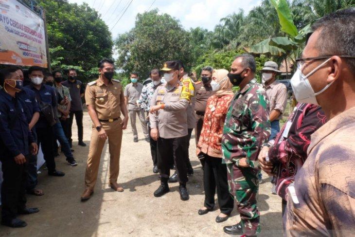 Pj Gubernur, Kapolda dan Danrem tinjau PSU Pilgub Jambi di Batanghari