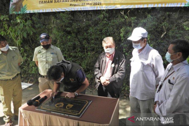 TSI Bogor-KLHK resmikan ruang perawatan anak elang jawa