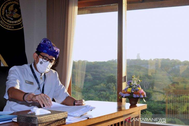 Kemenko Marves keliling sosialisasikan program Kerja dari Bali
