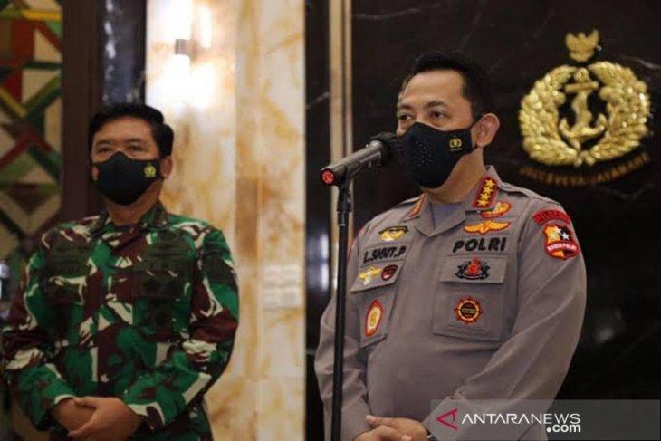 Arahan Kapolri dan Panglima untuk prajurit TNI-Polri bertugas di Papua