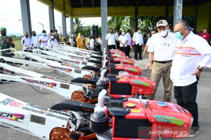 Dinas Pertanian Gorontalo bantah alsintan dikuasai orang berduit