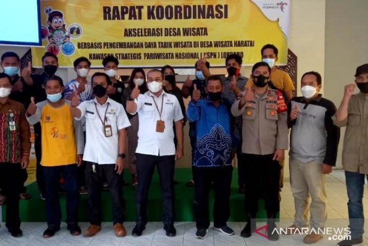 Rakor Disporapar HSS untuk akselerasi pengembangan desa wisata Haratai di KSPN
