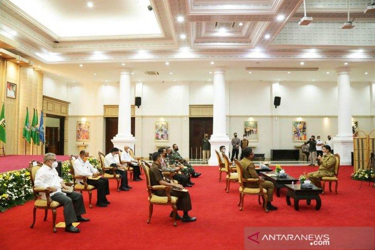 WH-Andika Terus Koordinasi dengan TNI/Polri tentang Larangan Mudik, Bangun  18 Titik Penyekatan