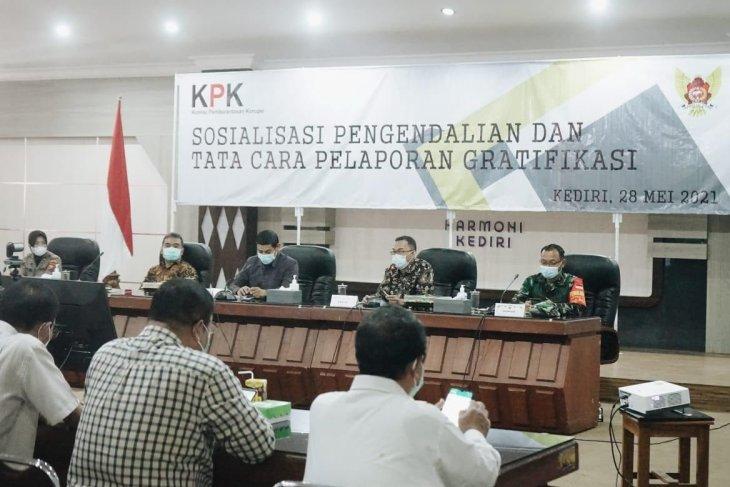 KPK apresiasi kinerja Pemkot Kediri tekan gratifikasi dan pencegahan korupsi