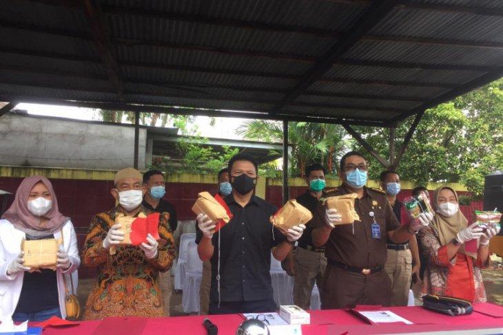 Polda Kalbar musnahkan barang bukti sabu 6,9 kilogram