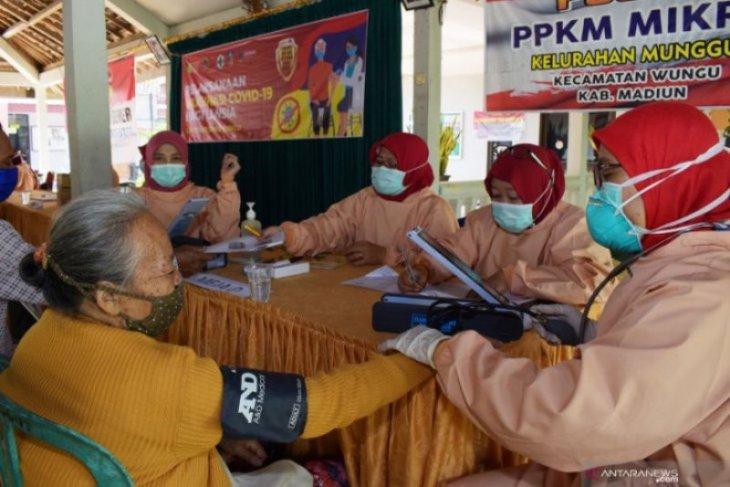 Sebanyak 3.029 warga lansia Kota Madiun jalani vaksinasi COVID-19