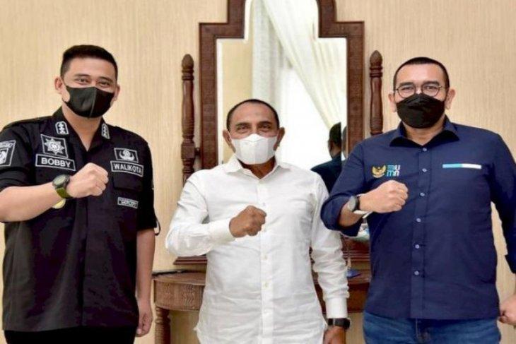 Kementerian BUMN bersiap  lakukan vaksinasi COVID-19 massal di Sumut