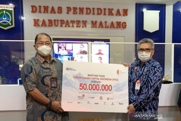 FHCI salurkan bantuan untuk pembangunan sekolah rusak akibat gempa di Malang