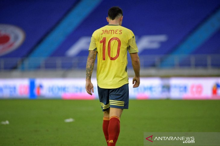 James Rodriguez dicoret Kolombia dalam Copa America 2021