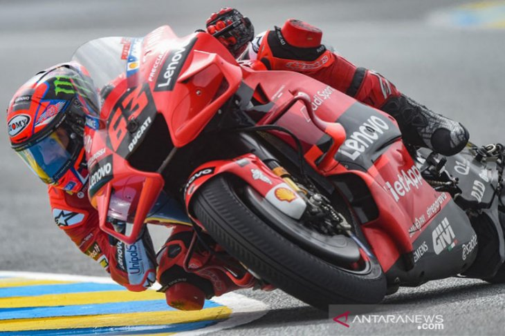 Bagnaia ingin tebus kesalahan  di GP Catalunya