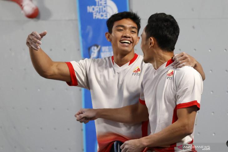 Atlet asal Kalbar Veddriq Leonardo raih medali emas di Piala Dunia Panjat Tebing 2021