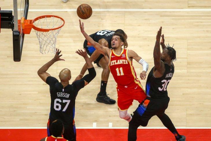 Atlanta Hawks petik kemenangan 105-94 atas New York Knicks