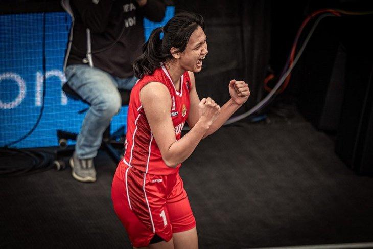 Timnas basket 3x3 putri Indonesia tundukkan Uruguay 22-15 di kualifikasi Olimpiade