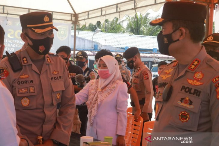 Kapolda Aceh pantau pos penyekatan perbatasan Subulussalam