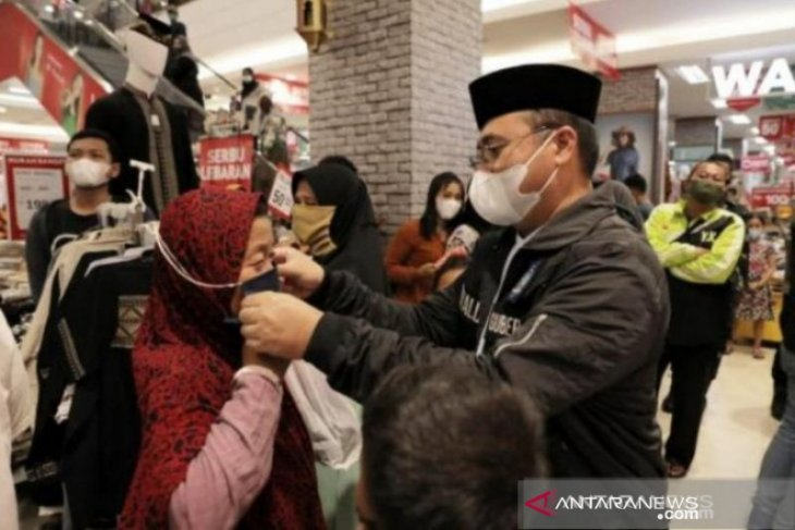 Satgas COVID-19: Kepatuhan masyarakat Babel gunakan masker naik